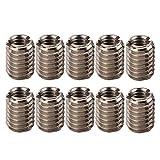 Herramienta de inserción roscada, inserciones roscadas de acero inoxidable M4 x 0,7 duradera para equipos mecánicos para reparación de roscas