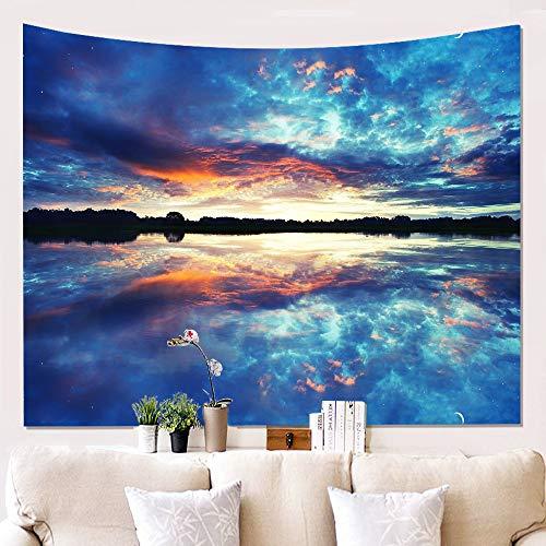 xkjymx Landscape Wall Tuch hängen Tuch Hintergrund Tuch hängen Tapisserie wanddekoration Decke W180622-G043