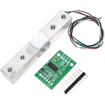 ARCELI HX711 ADC Converter Breakout Module Sensore di carico digitale per cella di carico 1KG Bilancia da cucina elettronica portatile, DIYmall per
