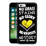 Case Compatible with iPhone 6s Plus (2015), iPhone 6 Plus (2014) Softball Baseball no Grass Stains Glory Bruises Story Gloves Court Field Heart bat