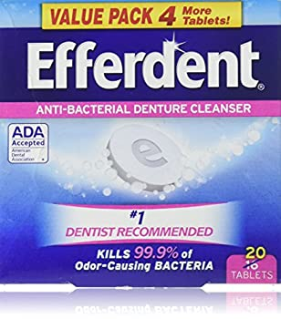 Efferdent Denture Cleanser Tablets 20 Count