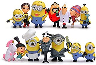 YOYOTOY 14Pcs/Lot S Figurines Toys Cute Model Kids Toys 6.7Cm PVC Anime Miniature Children Figure Must Haves for Kids Gift Basket Boys Favourite Characters Superhero Coloring UNbox Switch