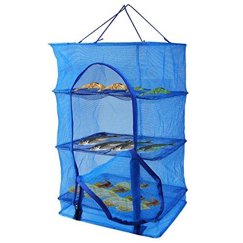 干し網 干しかご 3段 魚 ひもの 野菜 燻製干しかご ドライネット ドライバスケット 大型サイズ