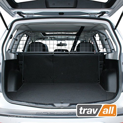 Travall Guard Compatible with Subaru Forester with Sunroof (2008-2012) TDG1316 - Rattle-Free Steel Vehicle Specific Pet Barrier