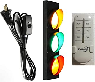 JJ 2 Feux De Gabarit LED Signalisation en Caoutchouc 12v Tricolore sur Antene