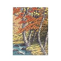 500ピース ジグソーパズル 奥入瀬之秋 古書 パズル 木製パズル 動物 風景 絵 ピクチュアパズル Puzzle 52.2x38.5cm