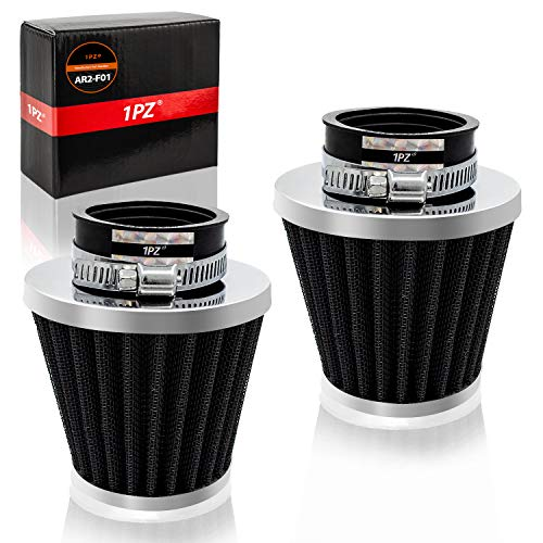 1PZ AR2-F01 38/39/40mm Air Filter Intake Cleaner for 50cc 90cc 110cc 125cc 150cc 200cc GY6 Motorcycle ATV Scooter Quad Go Kart Moped Pit Dirt Racing Bike Yamaha Suzuki Baja TaoTao Honda