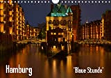 Hamburg'Blaue Stunde' (Wandkalender 2020 DIN A4 quer)