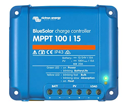 Victron regulador solar MPPT 100/1512–24V 15A