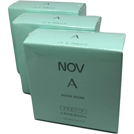 NOV ノブ A アクネソープ 3個セット 医薬部外品