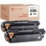 Tóner compatible con HP 85A CE285A para HP Laserjet Pro P1102w M1212nf M1132 M1217nfw (2 unidades), color negro