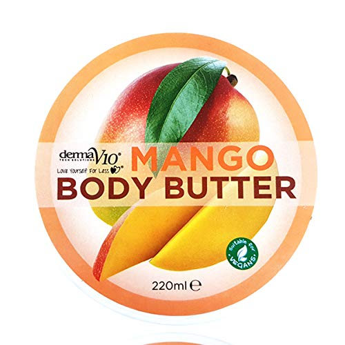 DermaV10 New Mango Body Butter 220ml