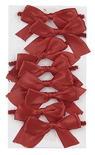 La Vogue 8PC Nœud Décoration Porte Couvert Dîner Vaisselle Papillon Noël Anniversaire Mariage Rouge