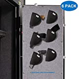 Mind and Action Pistol Holster 6 Pack with Melt Adhensive Velcro, Gun Safe Accessories...