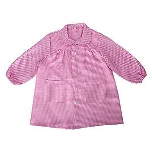 MISEMIYA - Baby 605 Bata Infantil Uniforme GUARDERIA - Rosa, 3 Años