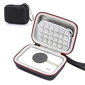 Estuche rígido para cámara Digital de impresión instantánea Polaroid Snap & Polaroid Snap Touch, Bolsa de Almacenamiento de Viaje Que Lleva - Negro