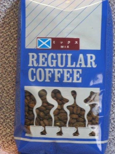 ミックスブレンドコーヒー豆(ホール)500g
