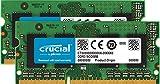 Crucial DDR3 8GB SODIMM 8GB DDR3 1866MHz Speichermodul, CT2KIT51264BF186DJ