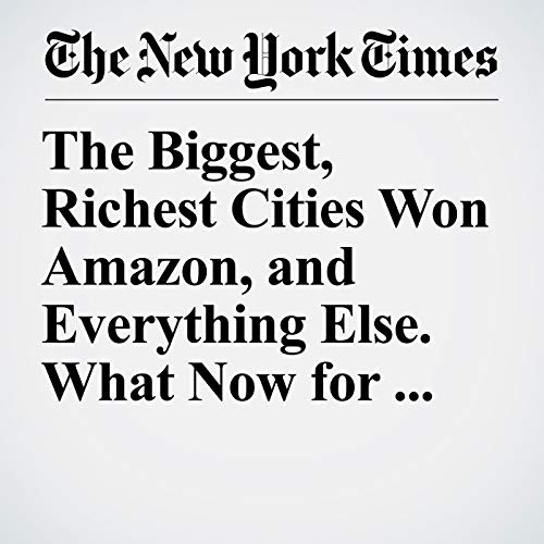 The Biggest, Richest Cities Won Amazon, and Everything Else. What Now for the Rest? audiobook cover art