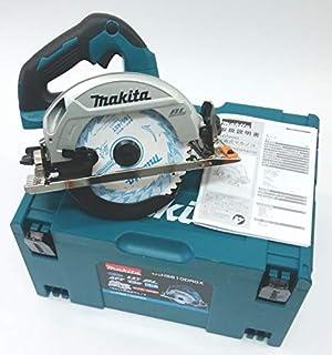 マキタ165mm充電丸のこ本体HS610DZ青+純正収納ケース付き バッテリーと充電器は別売