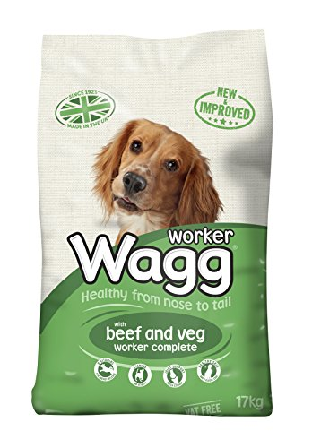 Wagg Complete Worker Dry Mix Dog Food Beef and Vegetables, 17 kg