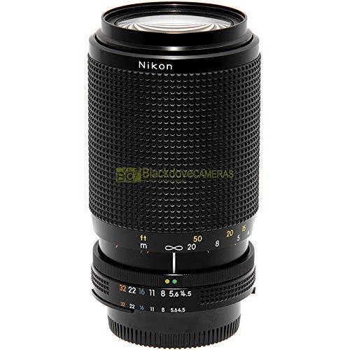 Obiettivo Nikon AI-s zoom Nikkor 70/210 mm f4,5-5,6 per fotocamere reflex