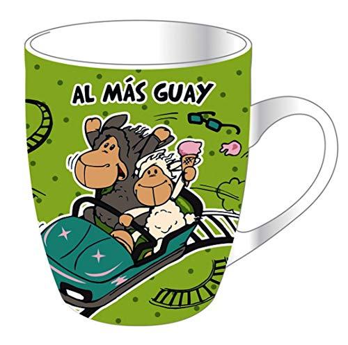 NICI 70931 Taza AL MÁS Guay Con caja de Regalo Kaffeebecher Spanisch