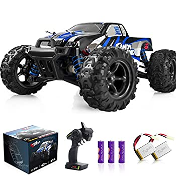 IMDEN Remote Control Car Terrain RC Cars Electric Remote Control Off Road Monster Truck 1 18 Scale 2.4Ghz Radio 4WD Fast 30+ MPH RC Car with 2 Rechargeable Batteries Blue