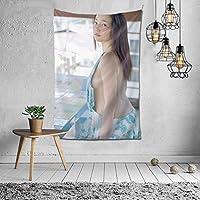 2021タペストリー 高?香帆 、 高嶋香帆、 Kaho Takashimaファッションの絶妙な印刷リビングルームの入り口寝室の背景壁の装飾カスタマイズされた壁掛け布 (60 * 40inch)