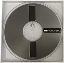 "Premium Analog Recording Tape by ATR Magnetics   1/4"" Master Tape - Modern Classic Sound   7"" Plastic Reel   1250' of Analog Tape"