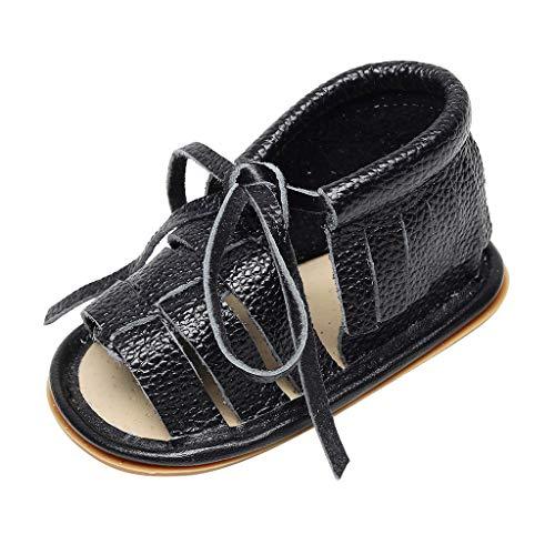 Enfant Chaussures Bébé Filles et Bébé Garçon WINJIN Chaussures Premiers Pas Été Sandales Enfants Respirant Cuir Souple Chaussons Baby Boy Girl Shoes pour 0-18 Mois Ans Bébé Child Toddler