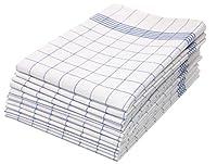 Gli asciugapiatti con una misura di ca. 50x70 cm vengono consegnati in una confezione di 10 oppure 5 pezzi e sono dotati di un gancetto per appenderli. Il cotone è la materia prima tessile con la più alta capacità di assorbimento. Si tratta di canova...