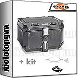 kappa maleta kfr480a k'force 48 lt + portaequipaje monokey compatible con bmw k75 750