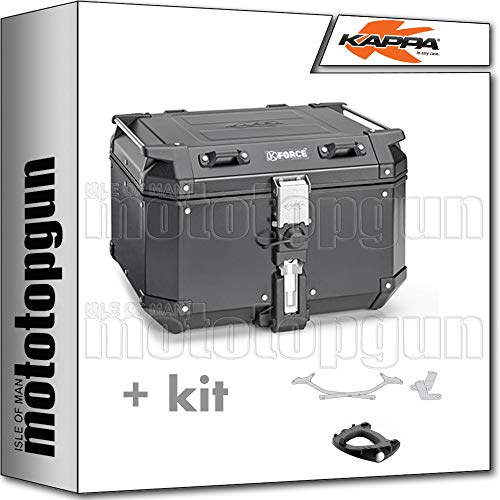 kappa maleta kfr480a k'force 48 lt + portaequipaje monokey compatible con honda xl 1000 v varadero abs 2011 11