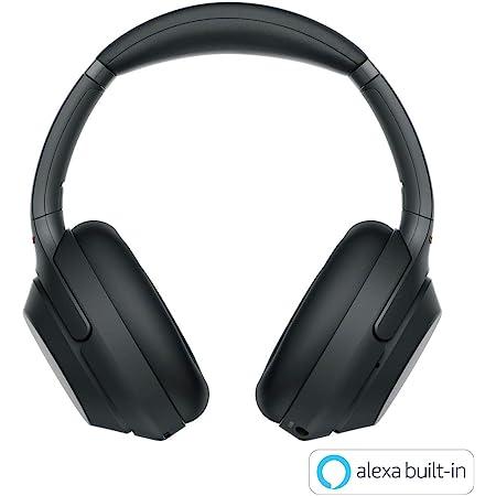 ソニー ワイヤレスノイズキャンセリングヘッドホン WH-1000XM3 : LDAC/ Amazon Alexa搭載 /Bluetooth/ハイレゾ 最大30時間連続再生 密閉型 マイク付 2018年モデル 360 Reality Audio認定モデル ブラック WH-1000XM3 BM