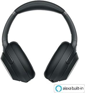 Sony 索尼 无线降噪耳机 WH-1000XM3:LDAC/搭载Amazon Alexa蓝牙/高分辨率 最长可连续播放30小时的密闭型 带麦克风 2018年款 黑色WH-1000XM3 B