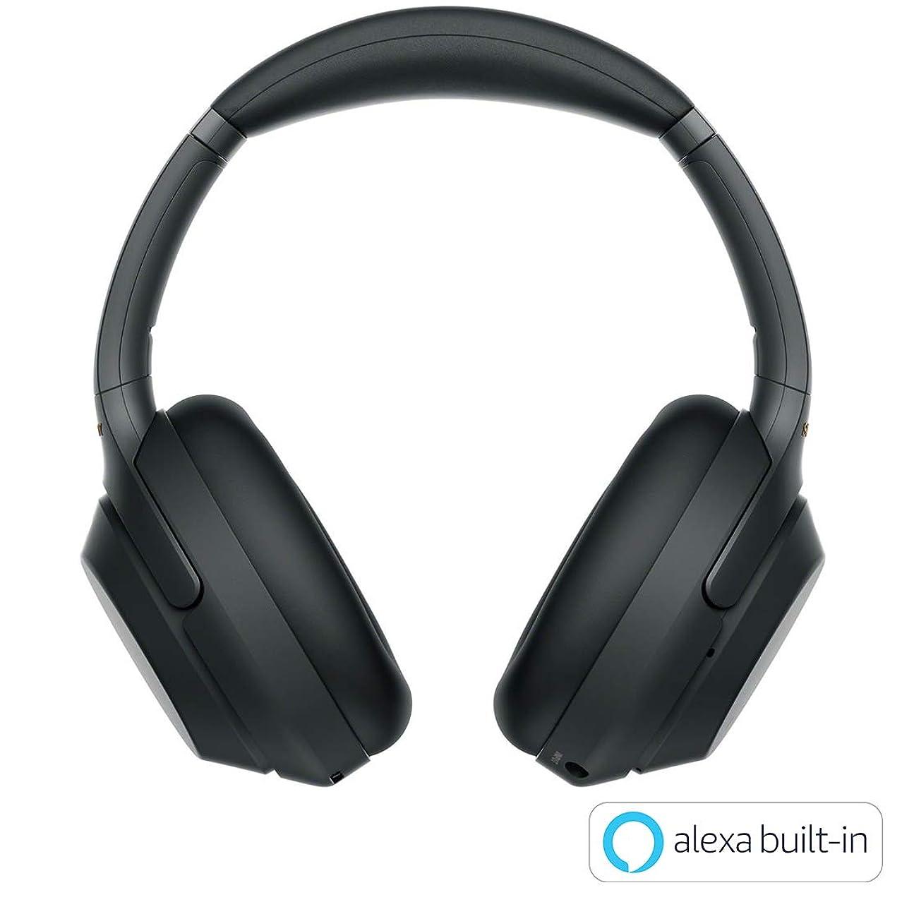 ガスゴネリル分析的ソニー SONY ワイヤレスノイズキャンセリングヘッドホン WH-1000XM3 B : LDAC/Bluetooth/ハイレゾ 最大30時間連続再生 密閉型 マイク付 2018年モデル ブラック