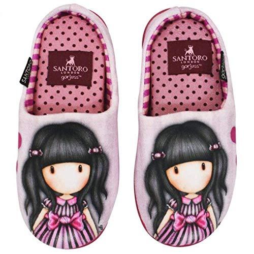 Santoro Gorjuss - Zapatillas de Estar por casa para niña Size: 35/36 EU