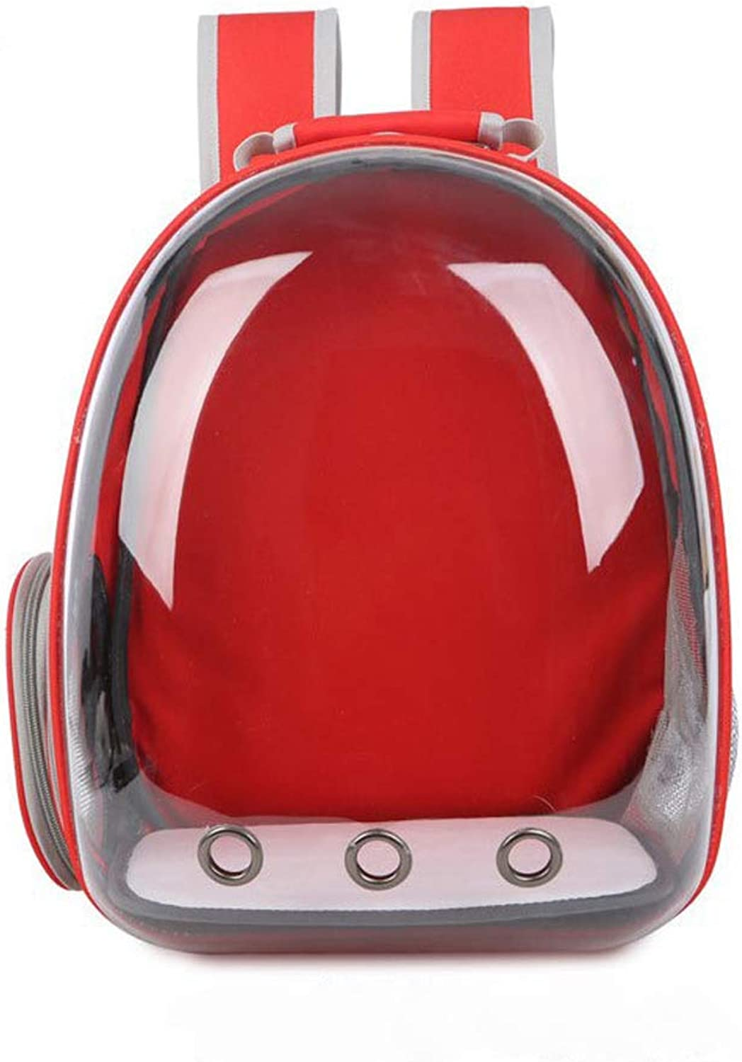 Bzd Full Transparent Space Pet Bag Three Air Breathable Cat Backpack Pet Space Capsule Outing Pet Backpack