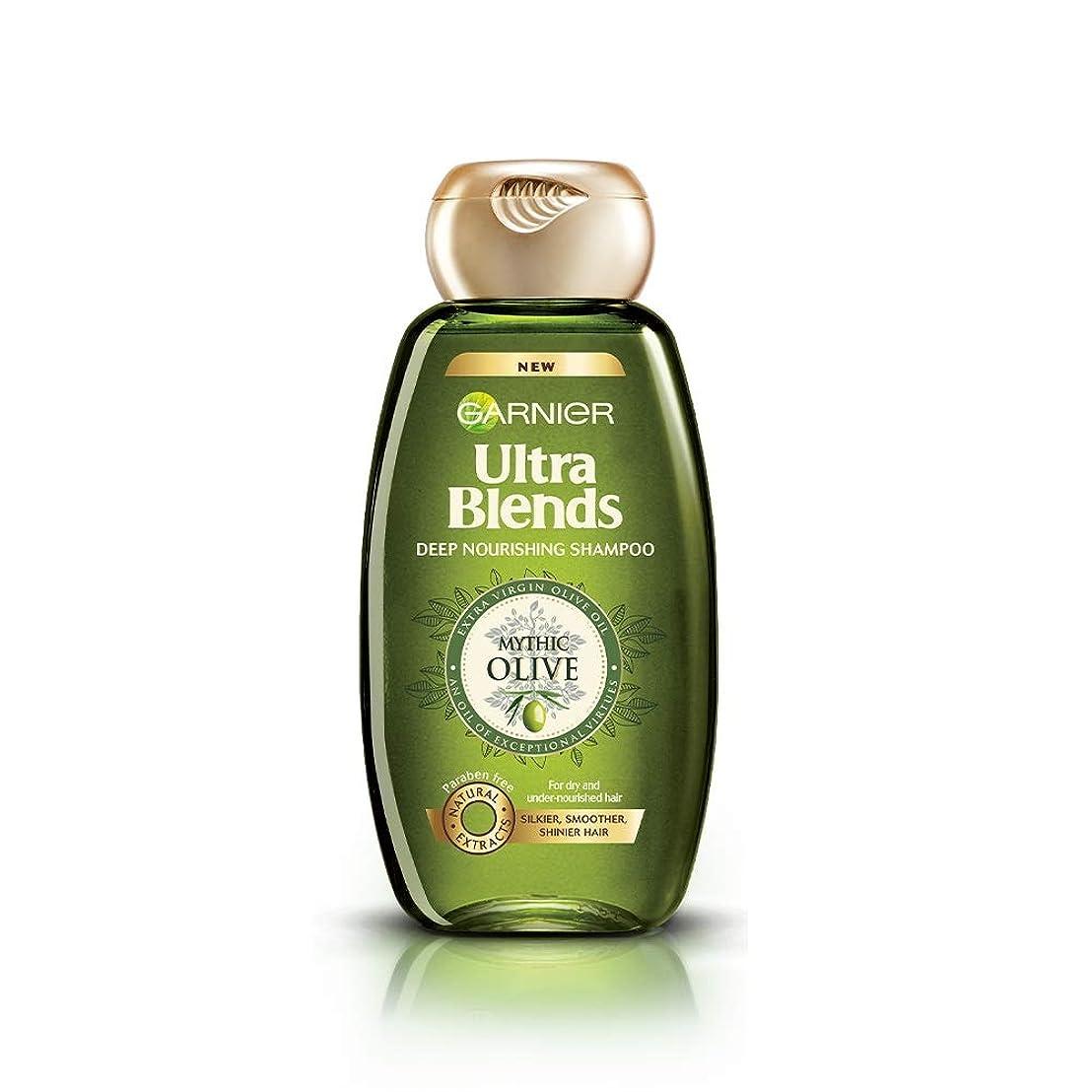 噴火市長アンプGarnier Ultra Blends Shampoo, Mythic Olive, 180ml