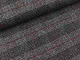 Swafing Tweed Wollstoff Antonio grau