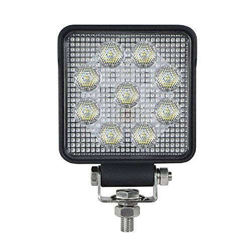 LED Autolamps Hochleistungs-Arbeitsleuchte, quadratisch, 9 x LED