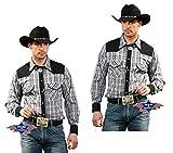 STARS   STRIPES Herren Hemd Westernhemd Biker Coun