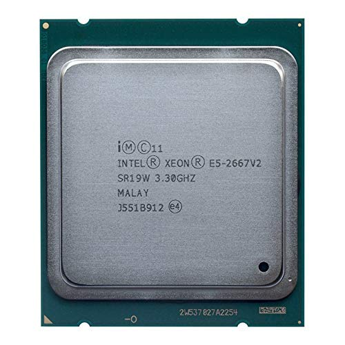 MAO YEYE Intel Xeon E5 2667 v2 3,3 GHz 8Core 16 Threads 25 MB Cache SR19W 130 W Prozessor (überholt)