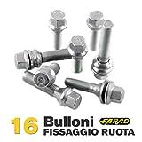 distanziali ruote fiat croma Prodotto di alta qualità realizzato in ITALIA da Farad, azienda leader nel settore. Modello: i3b12/s Tipologia: bullone 60° Dati tecnici: esagono: 17 - M12x1,5 - L: 23