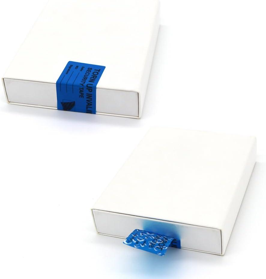 100 adesivi di sicurezza a prova di manomissione di trasferimento guarnizioni di sicurezza per impedire lapertura 100 pezzi rossi etichette resistenti al nullo
