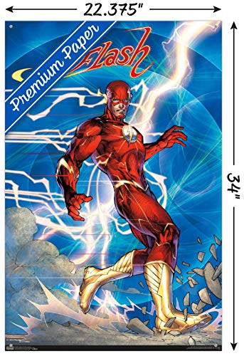 DC Comics - The Flash - Jim Lee Wall Poster with Push Pins