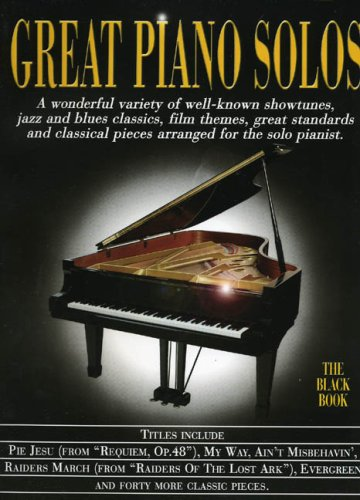 Great Piano Solos - The Black Book: Noten für Klavier