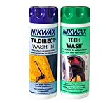 Nikwax Pack para Lavado Doble Tech Wash/TX.Direct