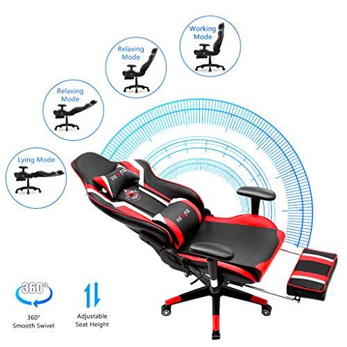 Ficmax Gaming Stuhl  Massage Bild 3*